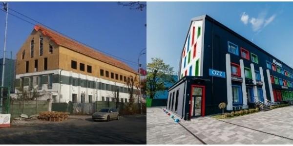 Офисный центр «AT HOUSE» - современна концепция реновации фасада.