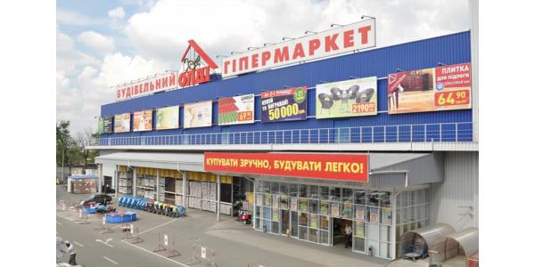 Компания ТПК приняла участие в строительстве ГМ «ОЛДИ»