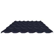 Металлочерепица Престиж мат полиэстер 0,45 мм RAL5004
