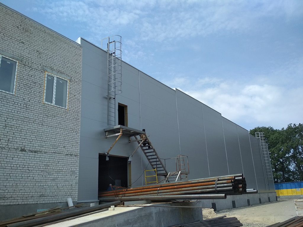 Складський комплекс в Урочище «Щедре» - об'єкт в стадії будівництва