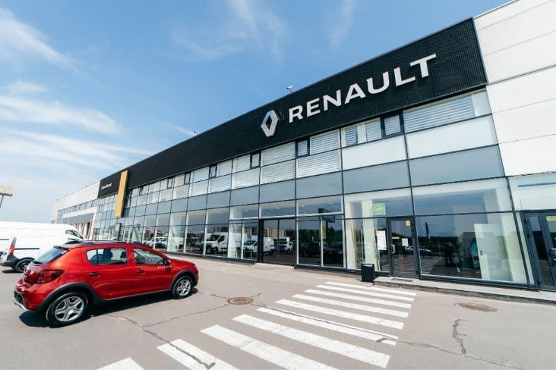 Дилерській центр «Renault»